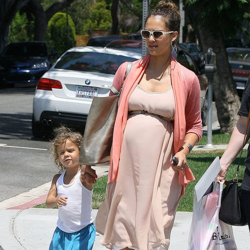 Jessica Alba and Honor Warren Shop at Bel Bambini in LA