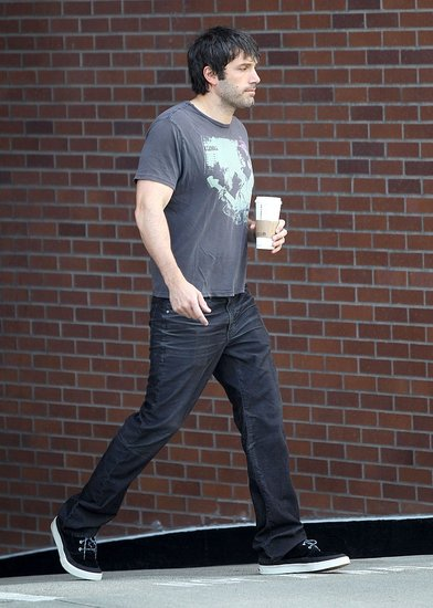 Ben Affleck Kicks Off His Morning With Some Caffeine