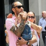 Alicia Keys and Swizz Beatz with Egypt in NYC.