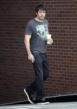 Ben Affleck was casual for a caffeine run.