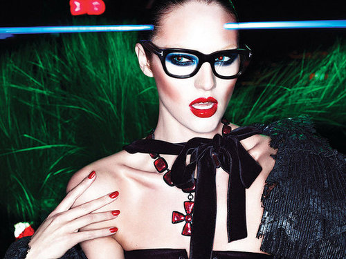 Tom Ford Fall 2011 Ad Campaign with Candice Swanepoel [Pictures]