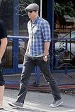 Ryan Reynolds wore old school Converse.
