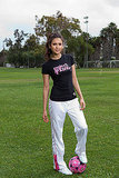 Nina Dobrev Gets Sporty For Puma's Project Pink