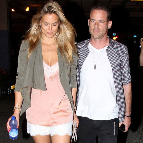 Bar Refaeli With New Boyfriend David Fisher in Tel Aviv
