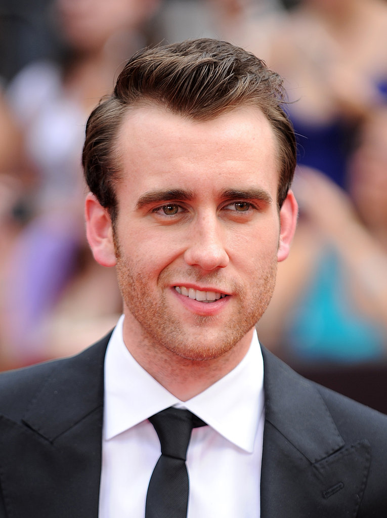 Matt Lewis flashes a devilish smile at the NYC premiere for Harry Potter and the Deathly Hallows Part II.