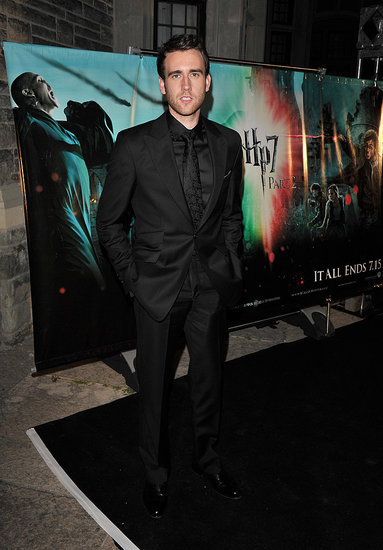 Matthew Lewis at the Toronto Harry Potter premiere.