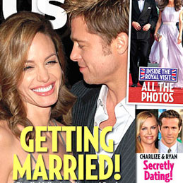 Angelina Jolie and Brad Pitt Marriage Rumors