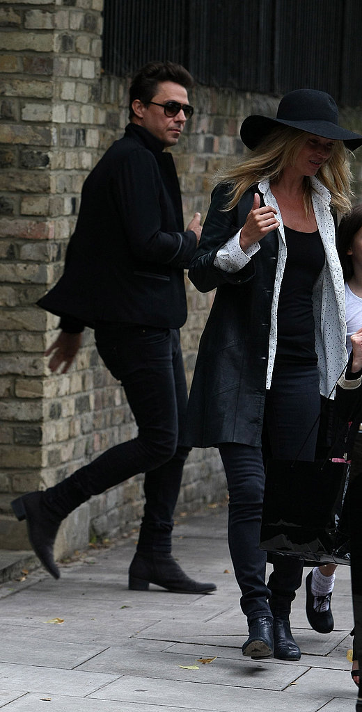 Kate Moss with husband Jamie Hince.