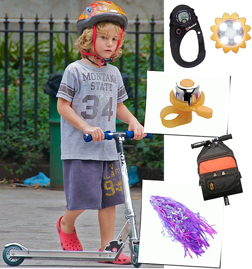 Pimp My Ride: Gadgets and Accessories to Make Tots' Scooters Their Own
