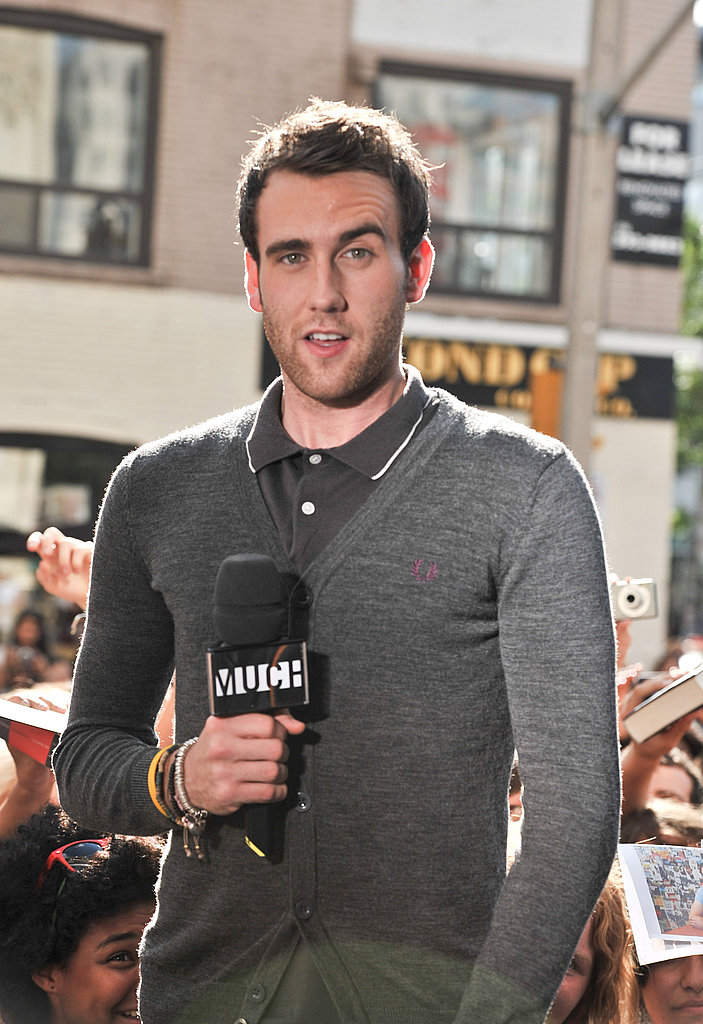 Matt Lewis raises his eyebrow at MuchMusic in Toronto, Canada.