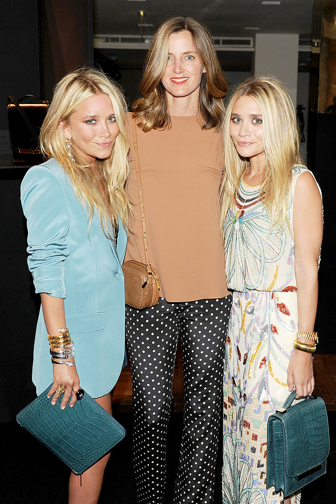 Mary-Kate Olsen, Amanda Brooks, Ashley Olsen