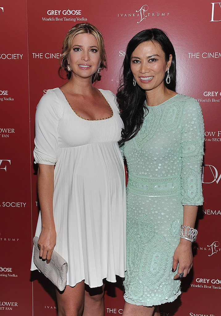 Wendi Murdoch and Ivanka Trump at a screening of Snow Flower And The Secret Fan.