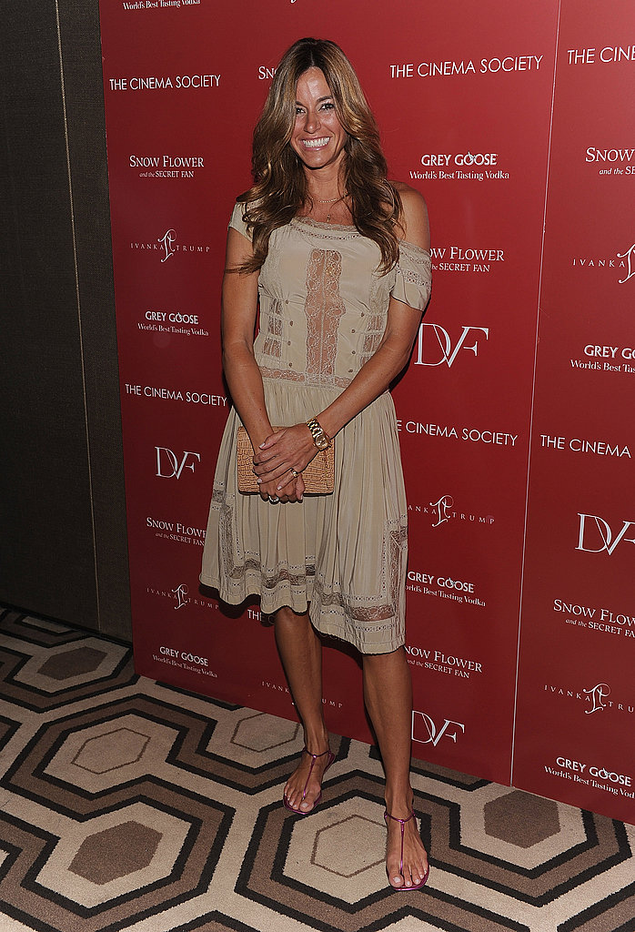 Kelly Bensimon at a screening of Snow Flower And The Secret Fan.