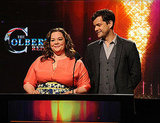 Joshua Jackson and Melissa McCarthy in LA.