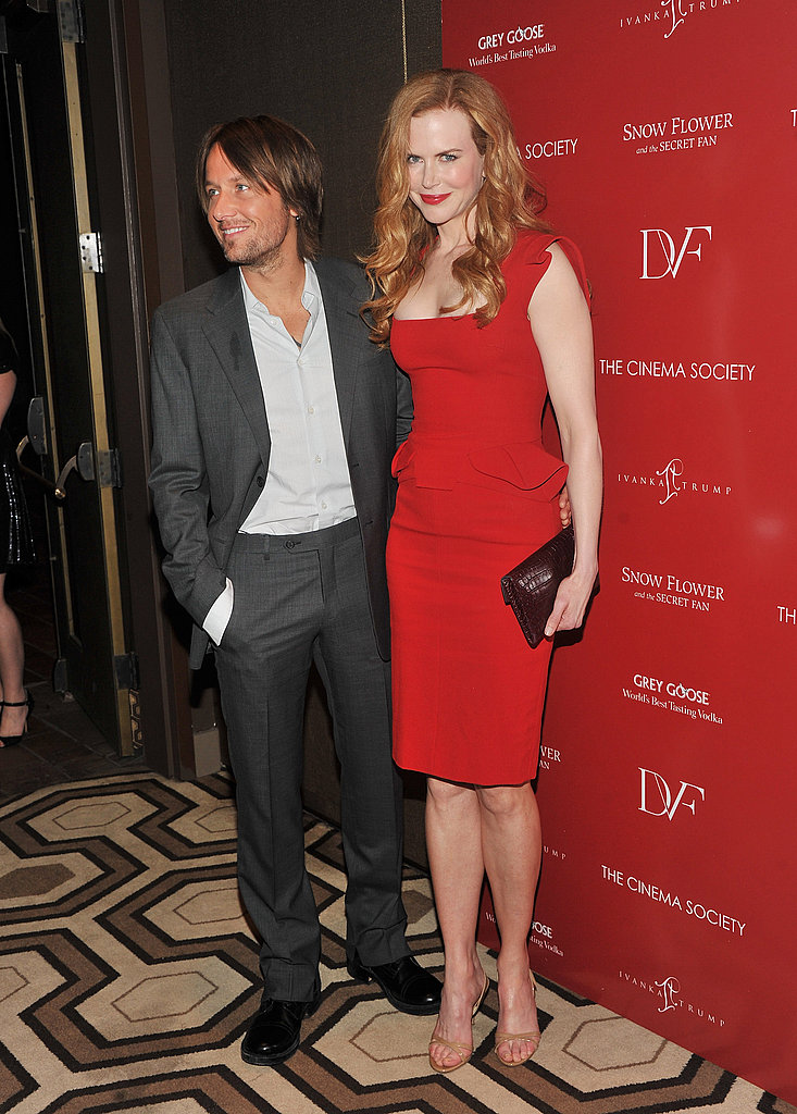 Keith Urban with wife Nicole Kidman.