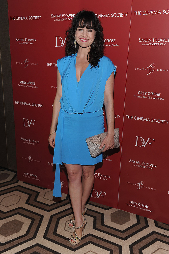 Carla Gugino at a screening of Snow Flower And The Secret Fan.