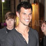 Taylor Lautner and Dustin Lance Black together in LA.