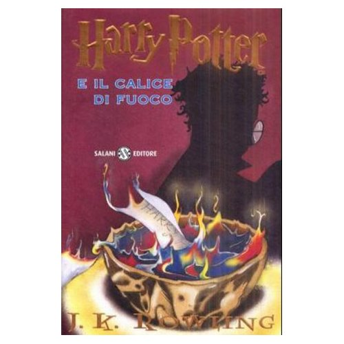Italian Harry Potter and the Goblet of Fire