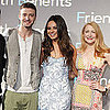 Pictures of Mila Kunis and Justin Timberlake at Friends With Benefits Press Event