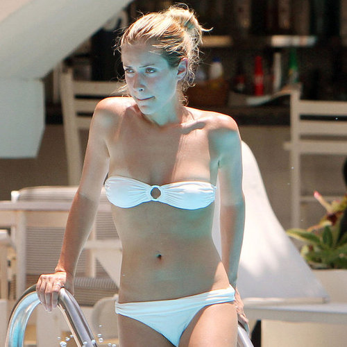 Kristin Cavallari in a Strapless Bikini With Jay Cutler