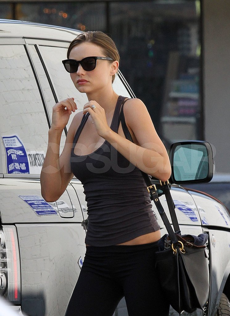 Miranda Kerr and Orlando Bloom Get Serious About Separate Workouts
