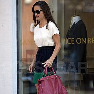 Pippa Middleton Pictures Wearing a Repeat Dress in London