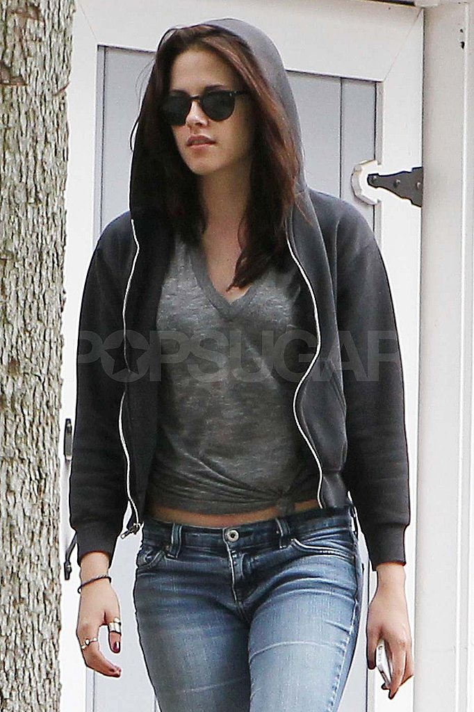 Kristen Stewart wears sunglasses in LA.