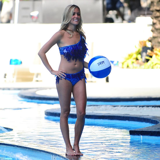 Kristin Cavallari Hits the Pool in a Cutout Bathing Suit For Miami's Fashion Week