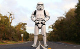 Geek Shot: A Stormtrooper Walks Through Australia