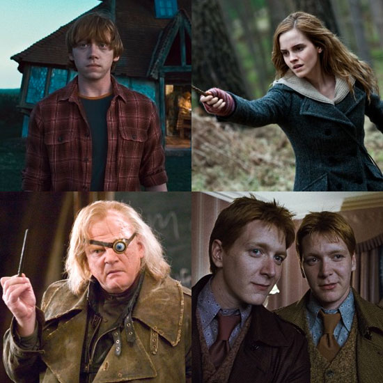 You Name Your Favorite Harry Potter Witches and Wizards!
