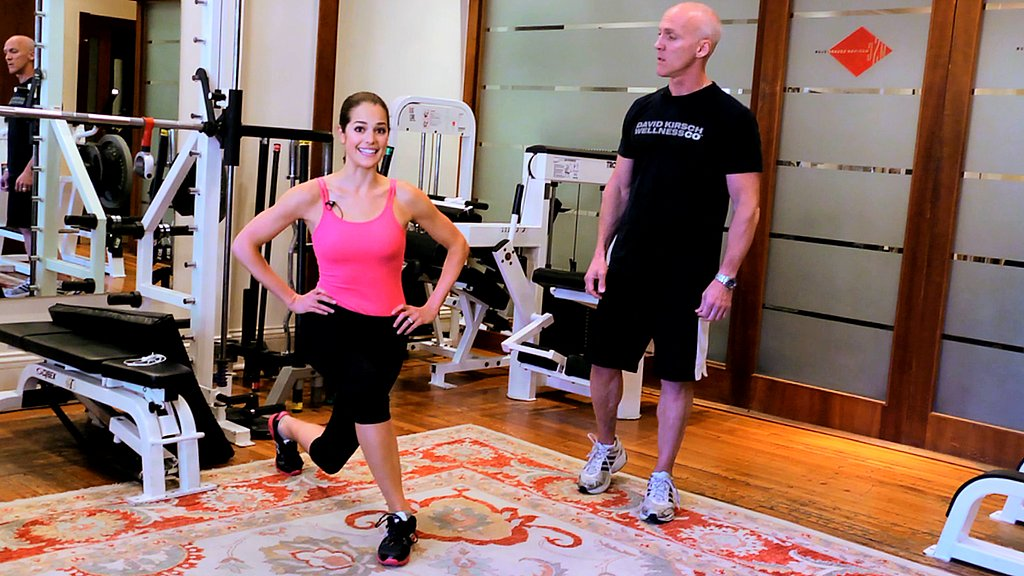 Heidi Klum's Easy Moves to Tone the Butt