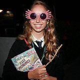 With her Quibbler and spectrespecs, this Luna fan is ready to see Harry Potter and the Deathly Hallows Part 2 in Australia.