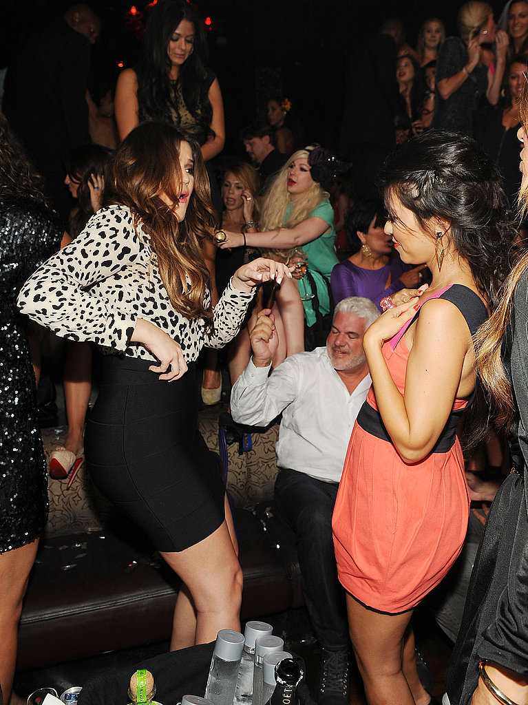 Khloe Kardashian let loose on the dance floor.