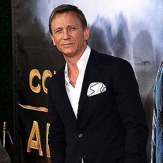 Daniel Craig, Harrison Ford, and Olivia Wilde at Cowboys and Aliens Comic-Con Premiere