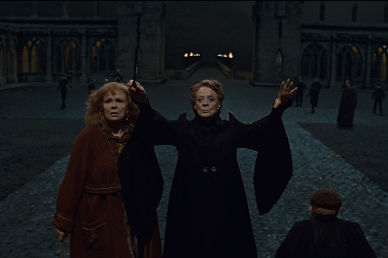 Professor McGonagall Casts a Mother of a Spell