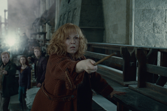 Mrs. Weasley Fights Bellatrix