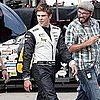 Zac Efron on a Movie Set in Iowa
