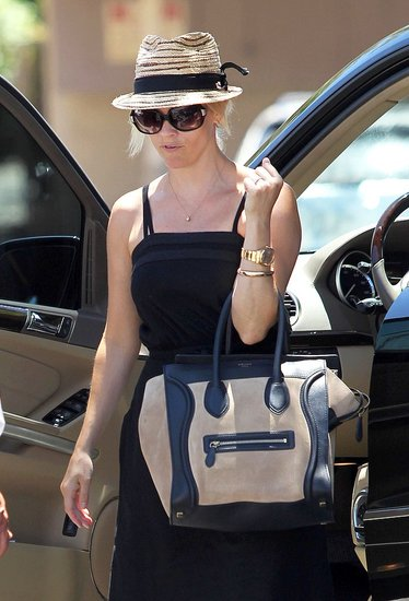 Reese Witherspoon carried a Celine bag.
