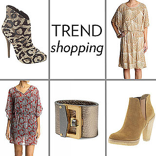 Summer Trends: Metallic, Bohemian, Vintage