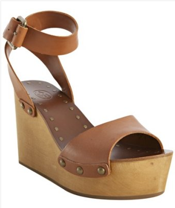 Pair these with anything from cutoffs to a maxi skirt to hone in on that country vibe. Ash Cognac Leather and Wood Vivian Wedges ($110, originally $215)