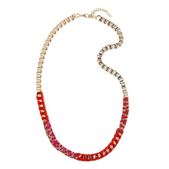 Missoni Woven Chain Necklace, $655