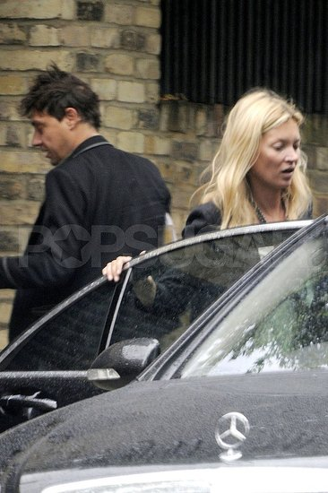 Newlyweds Kate Moss and Jamie Hince in London.