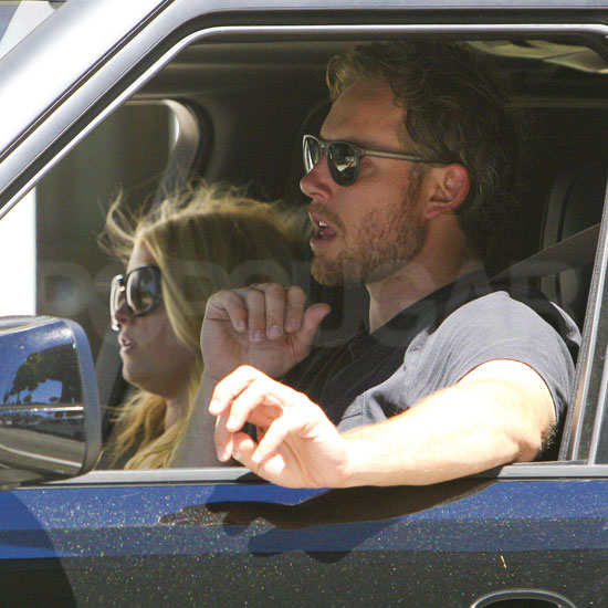 Jessica Simpson and Fiance Eric Johnson Pictures in LA