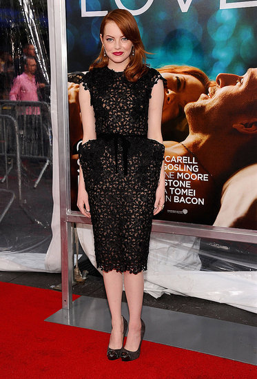 Emma Stone at the Crazy Stupid Love premiere in NYC.