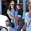 Jennifer Garner and Seraphina Affleck Pictures in LA