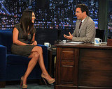 Mila Kunis Reveals Lots of Love For Jersey and Reality TV on Late Night With Jimmy Fallon