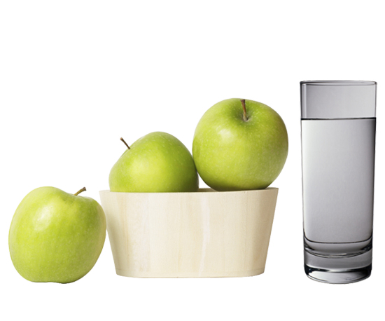 Eat More Fiber; Drink More Water