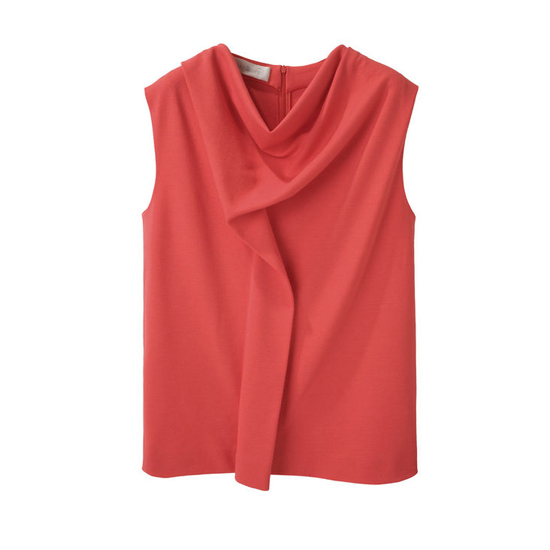 Cacharel Draped Jersey Top, $295