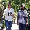 Robert Pattinson and Tom Sturridge Pictures With Rob&#039;s Dog Bear