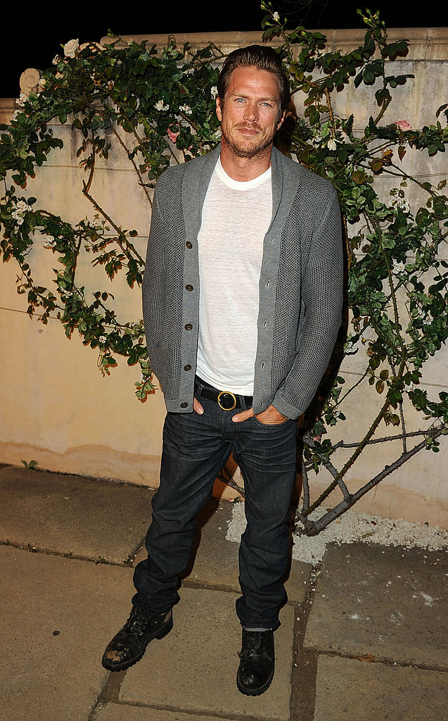 Jason Lewis at a Miu Miu party.